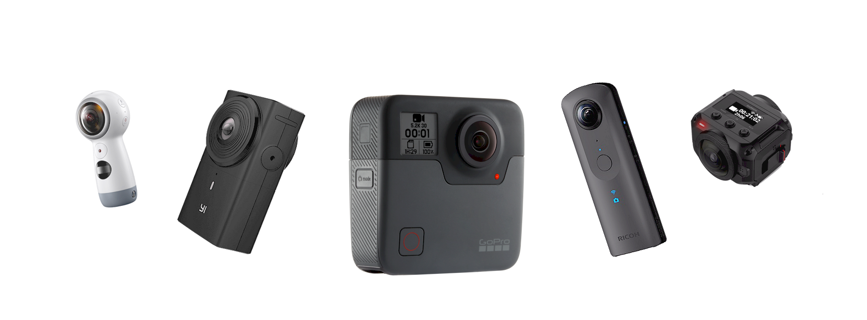 360 Video Cameras supported